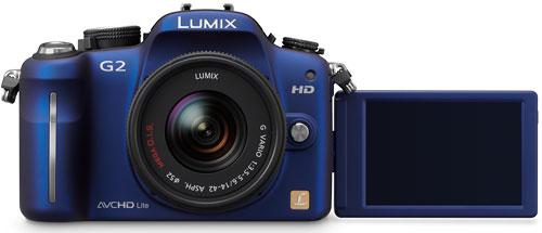 Foto der Lumix G2 von Panasonic