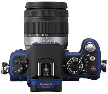 Foto der Oberseite der Lumix G2 von Panasonic