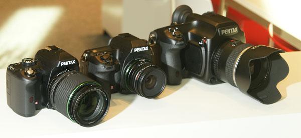 Foto der Rückseite der 645D von Pentax