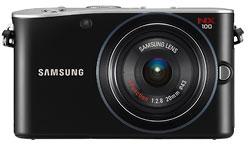 Foto der NX100 von Samsung