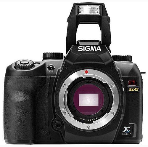 Foto der SD15 von Sigma