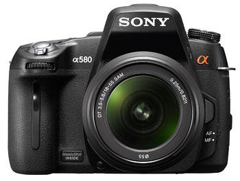 Foto der alpha 580 von Sony