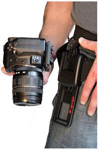 Foto vom Kameratragesystem b-grip