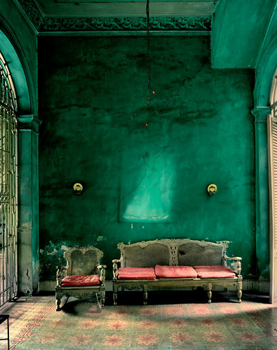 Foto Michael Eastman, Green Interior, 2002