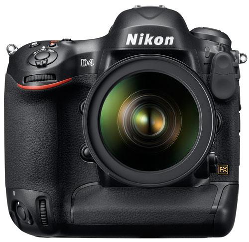 Foto der D4 von Nikon