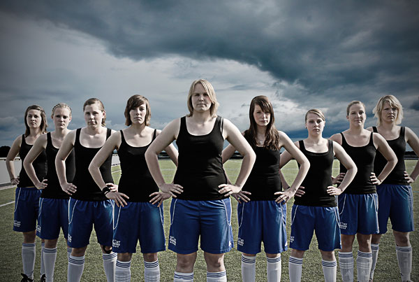 """Foto Anna Fleige: Aus der Serie """"Ein unschlagbares Team"""""""