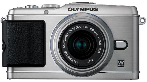Foto der PEN E-P3 von Olympus