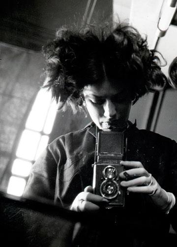 Foto Eva Besnyö, Selbstportrait, Berlin, 1931