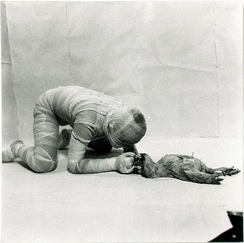 "Rudolf Schwarzkogler: 6. Aktion ""o.T."", Frühjahr 1966"