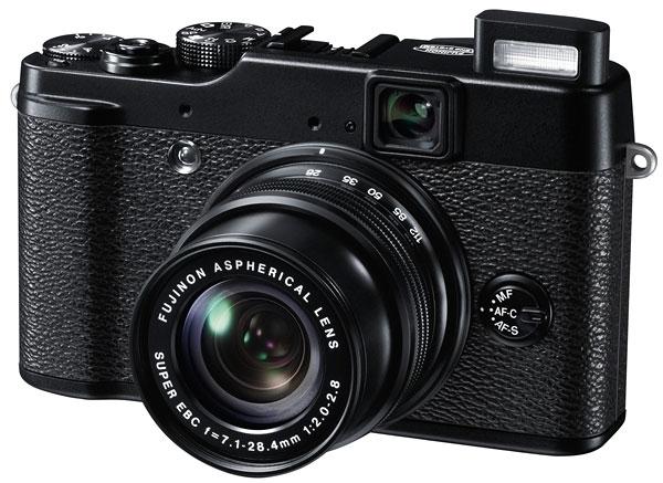 Foto der FinePix X10 von Fujifilm