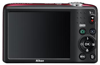 Foto der Rückseite der Coolpix L25 von Nikon