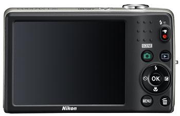 Foto der Rückseite der Coolpix L26 von Nikon