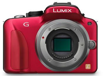 Foto der Lumix DMC-G3 von Panasonic