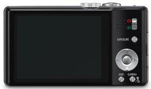 Foto der Rückseite der Lumix DMC-TZ18 von Panasonic