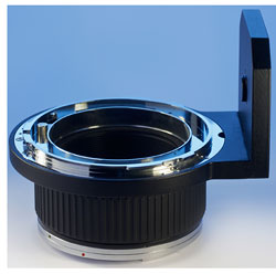 Foto vom HCam-RZ/RB-645-Adapter