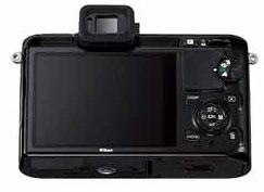 Foto der Rückseite der V1 von Nikon