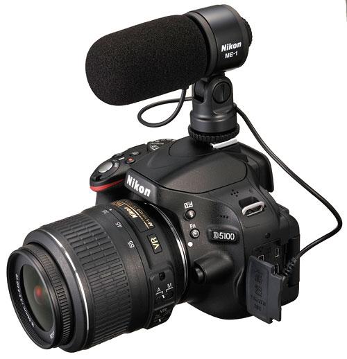 Foto des Stereomikrofons ME-1 von Nikon