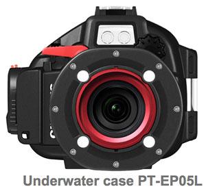 Foto vom Unterwassergehäuse PT-EP05L von Olympus