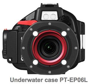 Foto vom Unterwassergehäuse PT-EP06L von Olympus