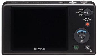 Foto der Rückseite der PX von Ricoh