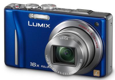 Foto der Lumix TZ22 von Panasonic