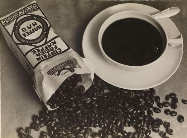 Foto Albert Renger-Patzsch: Kaffee Hag, 1925