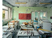 "Foto Robert Polidori, Classroom in Kindergarden #7 ""Golden Key"", Pripyat, 2001"