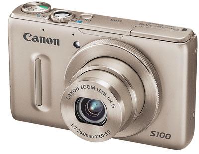 Foto der PowerShot S100 von Canon