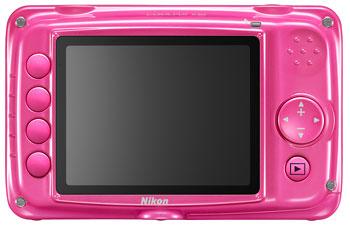 Foto der Rückseite der Coolpix S30 von Nikon