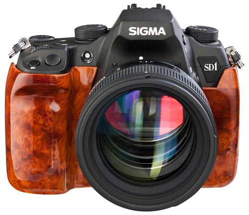 Foto der SD1 Wood Edition von Sigma