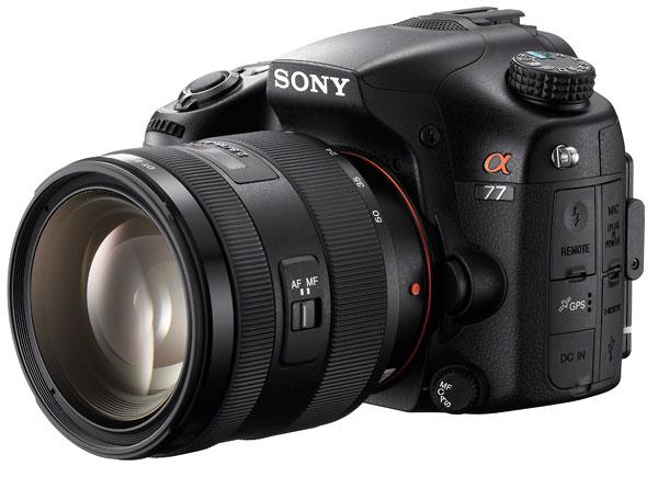 Foto der SLT-A77 von Sony