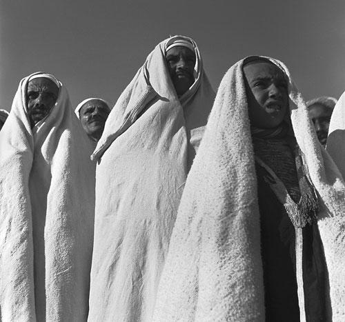 Foto Ré Soupault: Abreise der Pilger nach Mekka, Tunis 1939