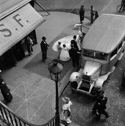Foto Ré Soupault: Hochzeit, Paris, 1934