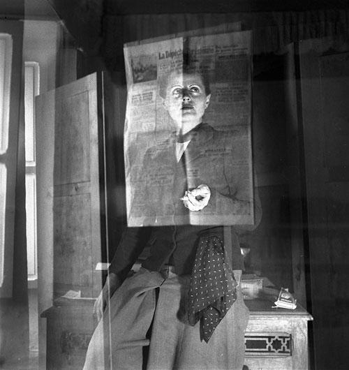 Foto Ré Soupault: Selbstporträt, Tunis 1939