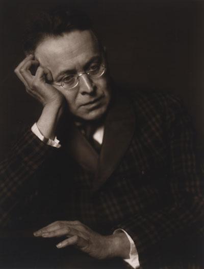 Foto Trude Fleischmann: Karl Kraus, Schriftsteller, Wien 1928