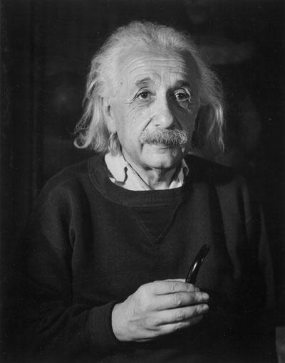 Foto Trude Fleischmann: Albert Einstein, Physiker, New Jersey 1954