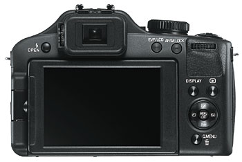 Foto der Rückseite der V-Lux 3