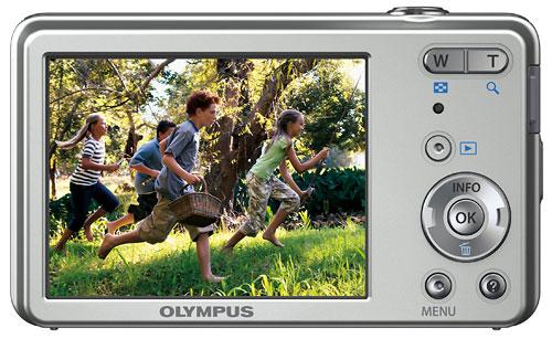 Foto der Rückseite der VG-150 von Olympus
