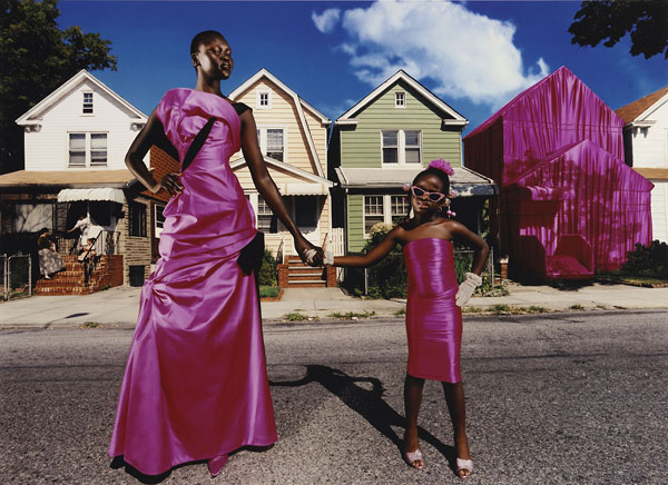 Foto David LaChapelle, My House, Alek Wek, New York, 1997