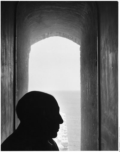 Foto Denise Colomb, Picasso in Antibes, 1952