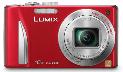 Foto der Lumix TZ25 von Panasonic