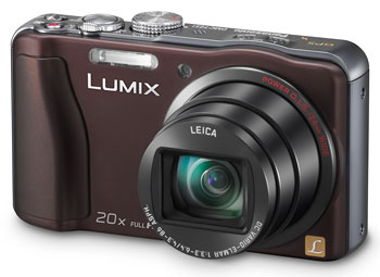 Foto der Lumix TZ31 von Panasonic
