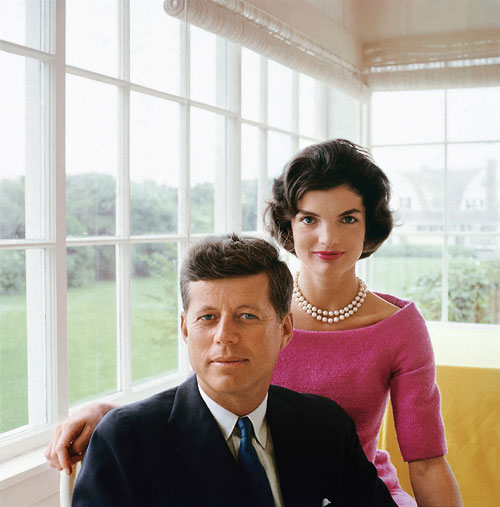 Foto Mark Shaw, Jackie and JFK Portrait in Hyannis Port, 1959