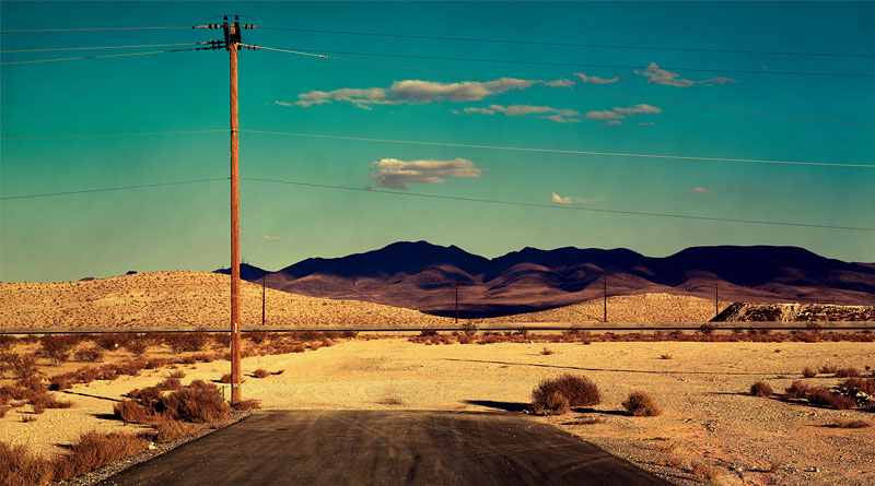 Foto Albert Watson, South End of Losee, Las Vegas, 2001