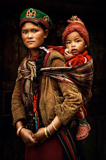 Foto Artem Zhushman, Madonna aus Nepal