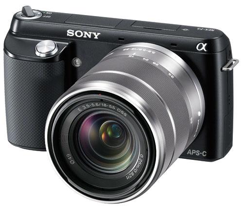 Foto der NEX-F3 von Sony