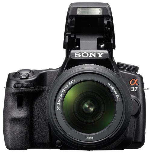 Foto der SLT-A37 von Sony