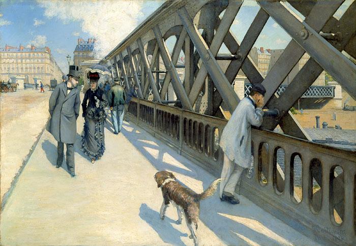 Gustave Caillebotte, Pont de l'Europe, 1876 (Le Pont de l'Europe)