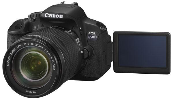 Foto der EOS 650D von Canon