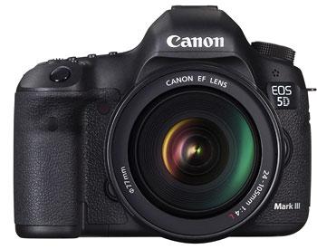 Foto der EOS 5D Mk III von Canon